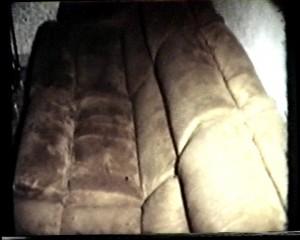 fotogramma di interno 25. il divano di camoscio