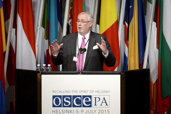 un momento nell'assemblea dell'OSCE