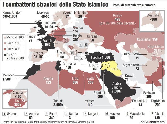 Isis: caccia ai boia europei,un gallese e due francesi