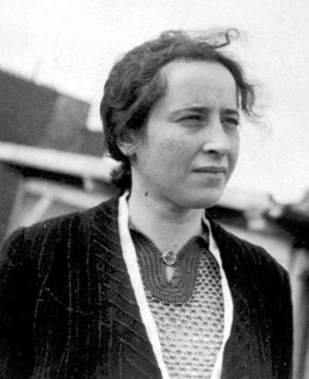 La Filosofa e Teorica Politica Hannah Arendt Hannover, 14 ottobre 1906 – New York, 4 dicembre 1975- autrice di Origini del Totaliterismo