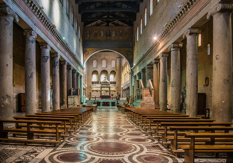 Basilica di San Lorenzo Fuori le Mura -Roma