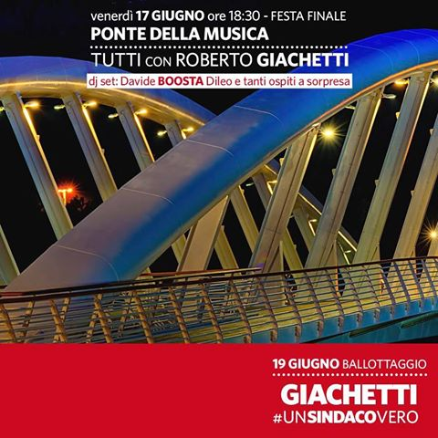 aperitivo con Giachetti