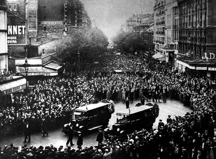 Parigi 1937 I Funerali dei Fratelli Rosselli