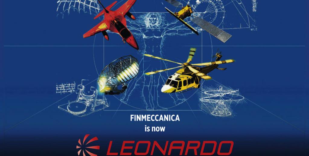 Finmeccanica diventa Leonardo