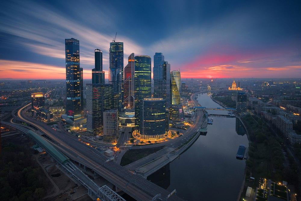 il quartiere dei grattacieli moscoviti