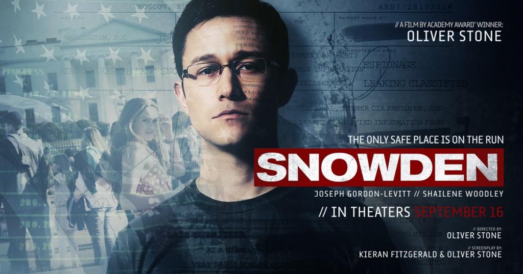 Snowden , il film di Oliver Stone uscito a novembre in Italia