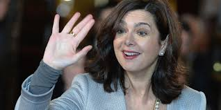 Il Presidente della camera Onorevole Laura Boldrini