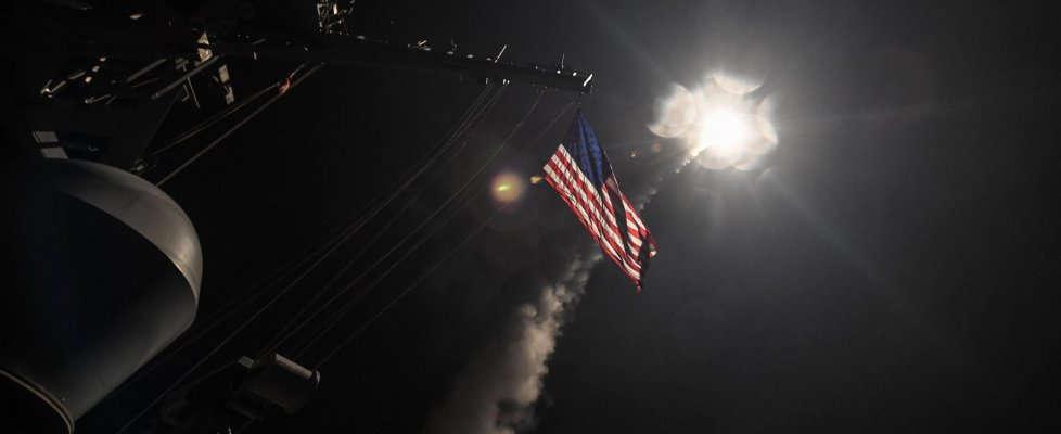 lancio dei missili americani sulla siria