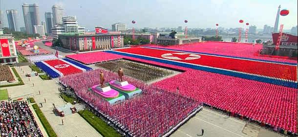 Parata militare in Corea del Nord