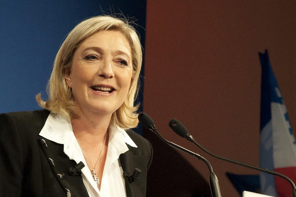 Francia Marine Le Pen