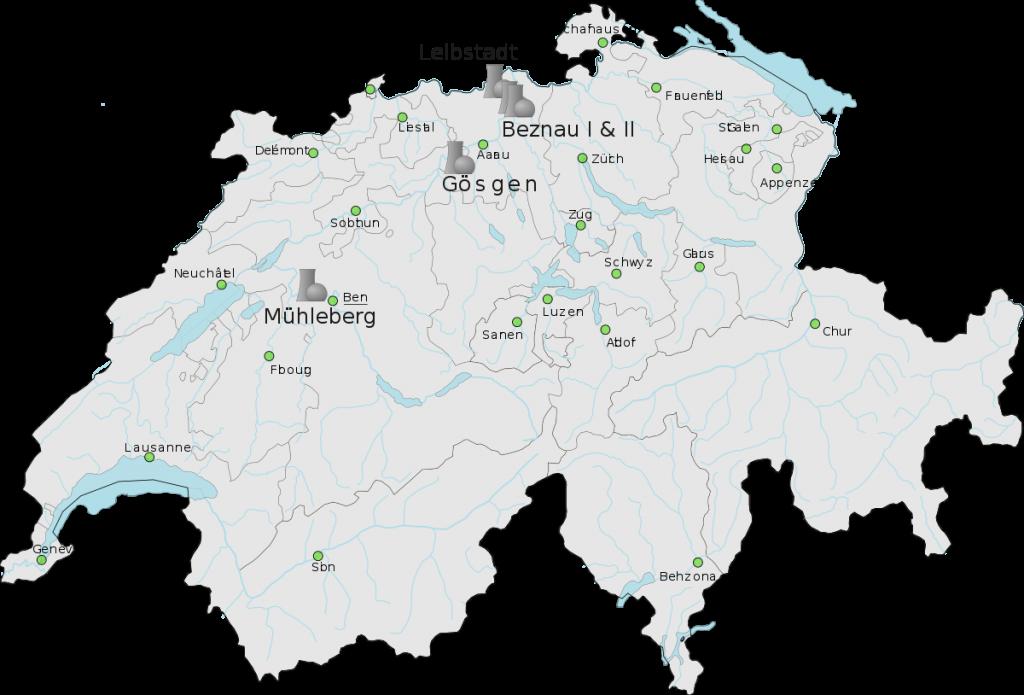 Svizzera Energia Nucleare