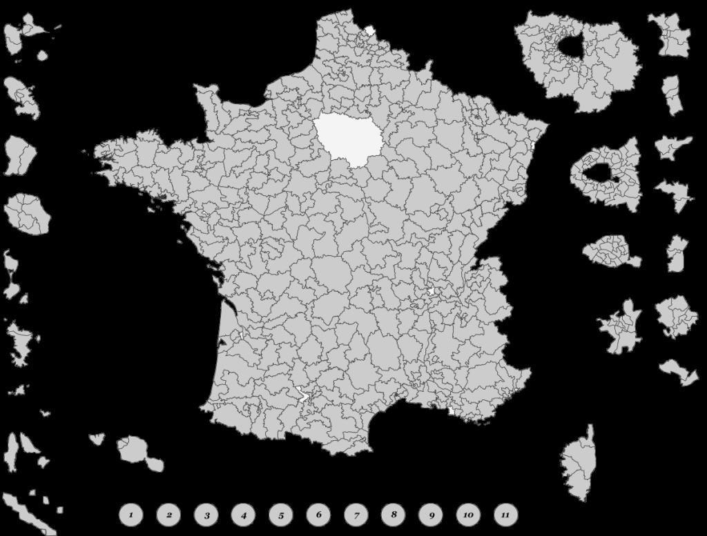 Circoscrizioni Francia