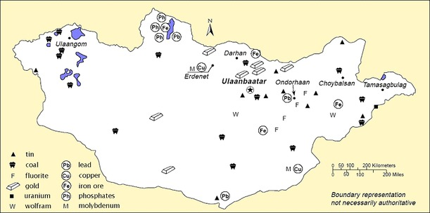Mongolia risorse