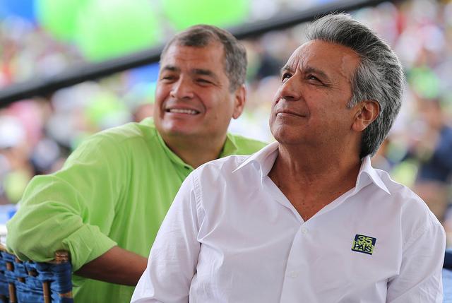 Lenin Moreno Rafael Correa