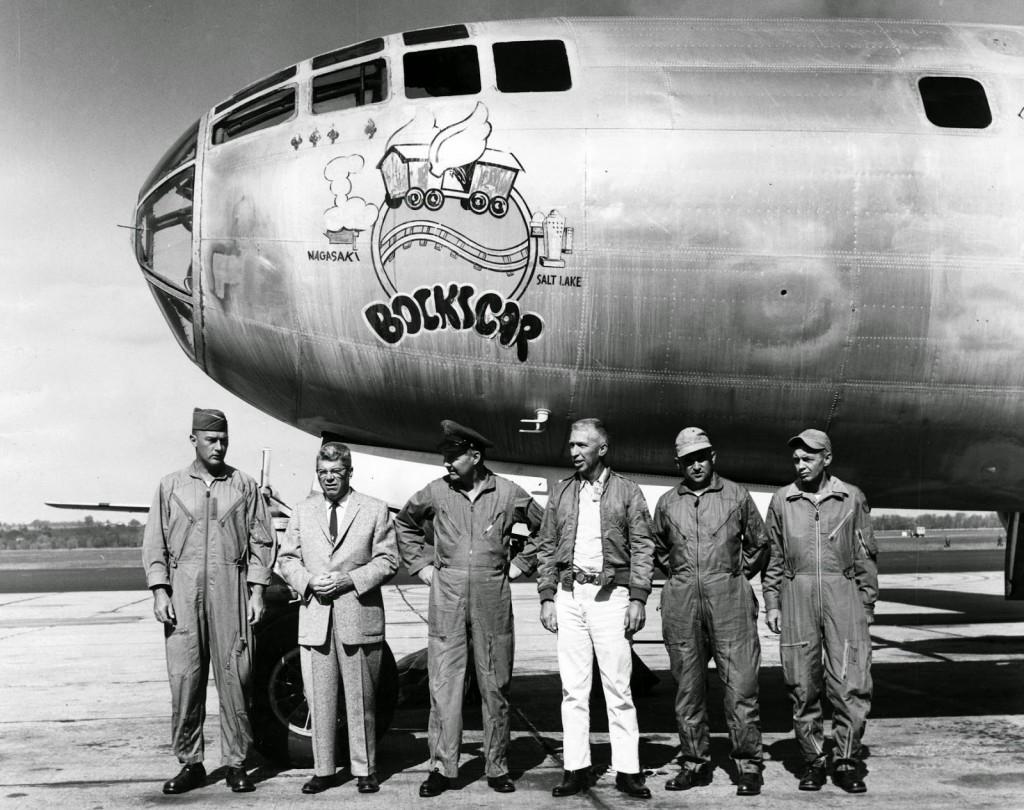 il Bombardiere che sgancerà l'ìatomica su Nagasaki