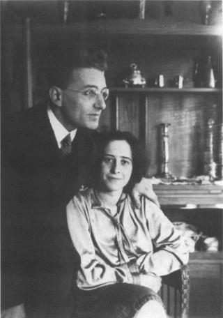 Gunter Anders e Hannah Arendt quando erano sposati