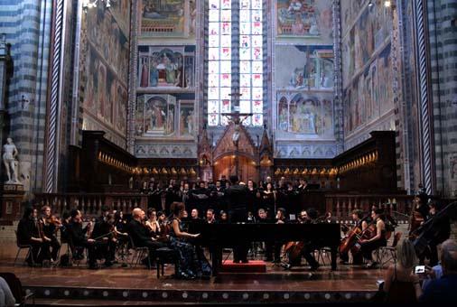 Concerto nel Duomo di Orvieto durante il Narnia festival