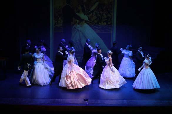 un Momento dello Spettacolo della Compagnia Nazionale di Danza Storica