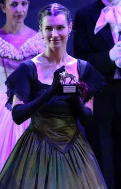 la soprano Natalia Pavlova premiata al Narnia Festival con il Leone d'Argento 2017