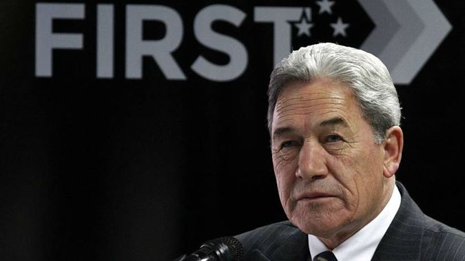 NZ Winston Peters