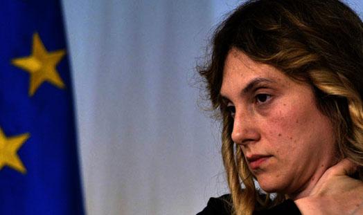 Marianna Madia titolare della distruzione del Corpo Forestale dello Stato