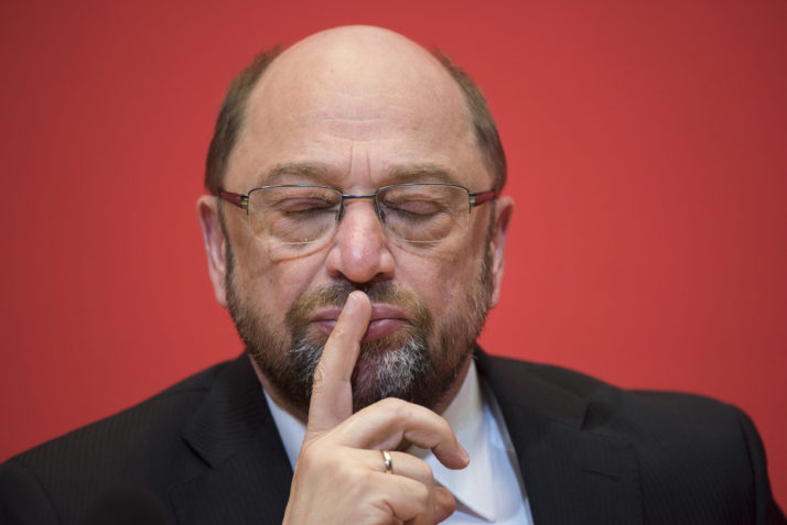 Martin Schulz Speaks To Foreign Journalists' Association