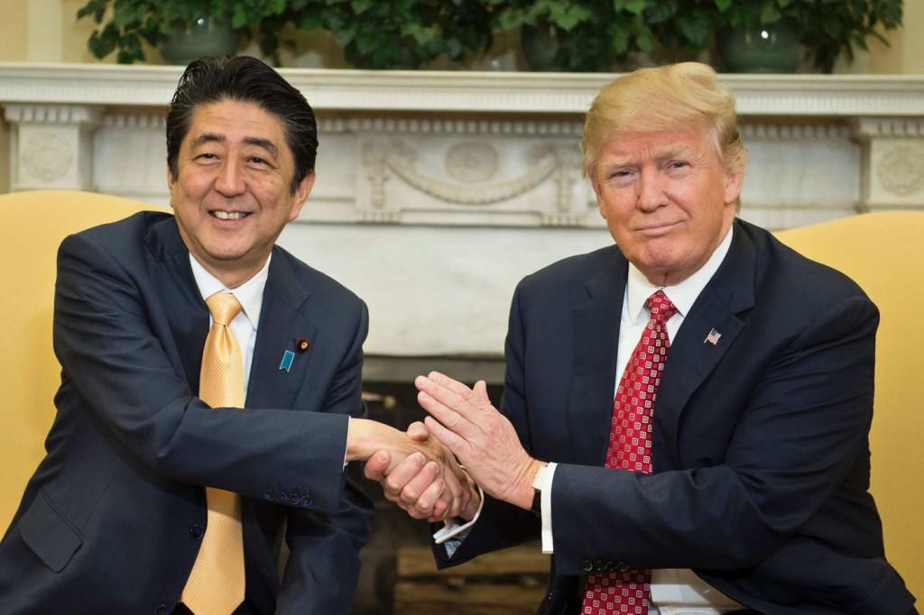 Shinzo Abe Donald Trump