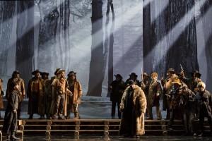 III atto Fanciulla del West al teatro del Giglio di Lucca
