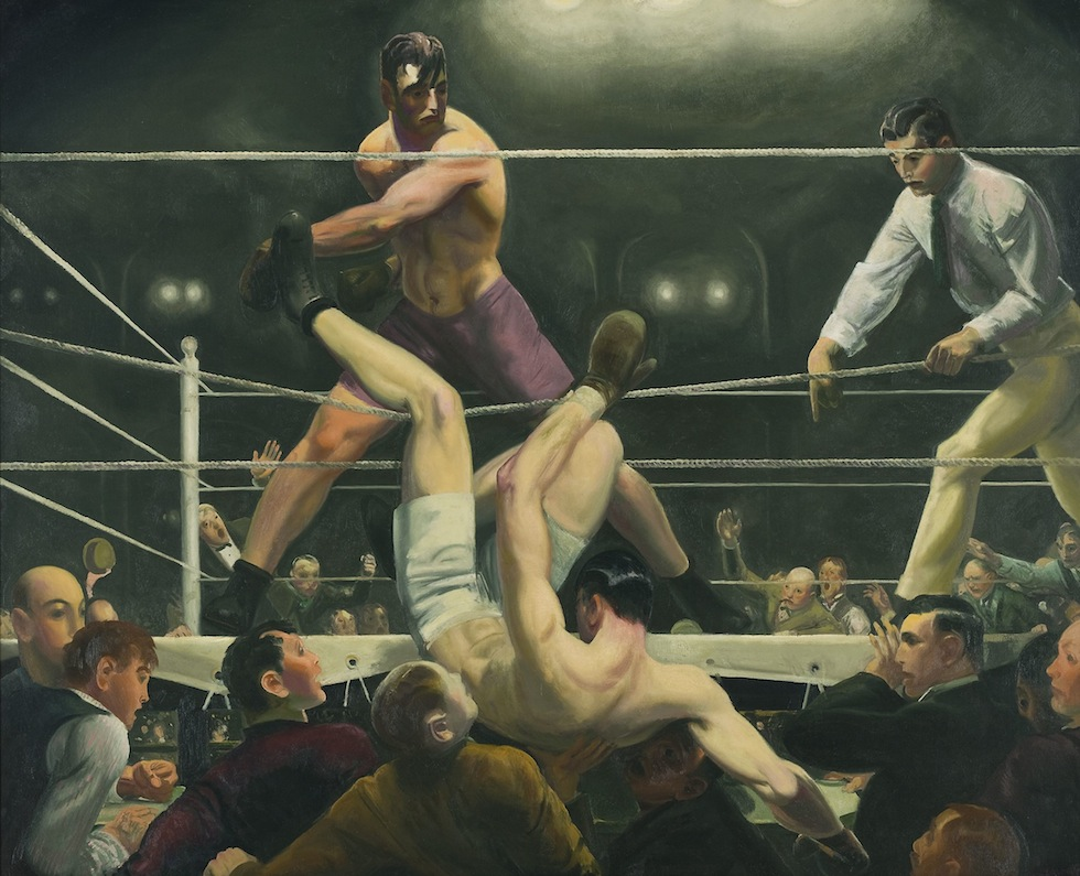 George Bellows, Dempsey and Firpo, 1924 you-ng.it