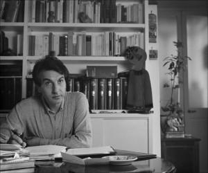 il poeta Elio Pecora negli anni 70