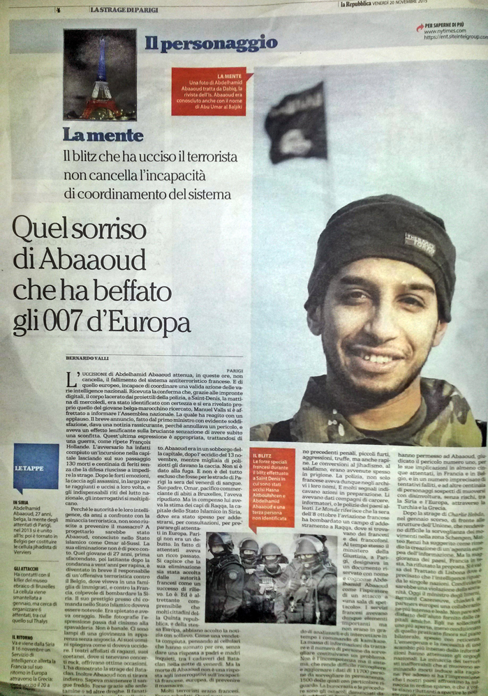 la Pagina IL PERSONAGGIO dedicata alla persolaità del terrorista