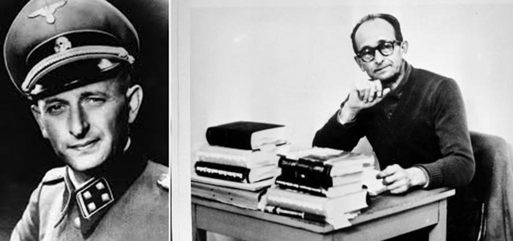 LSS-Obersturmbannführer Otto Adolf Eichmann responsabile della macchina dello sterminio nazista