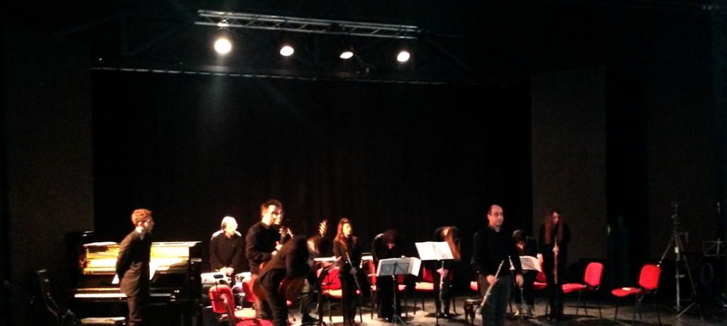 Natalia Pavlova e Orchestra Ghironda : L'Orchestra Ghironda durante un concerto a Roma
