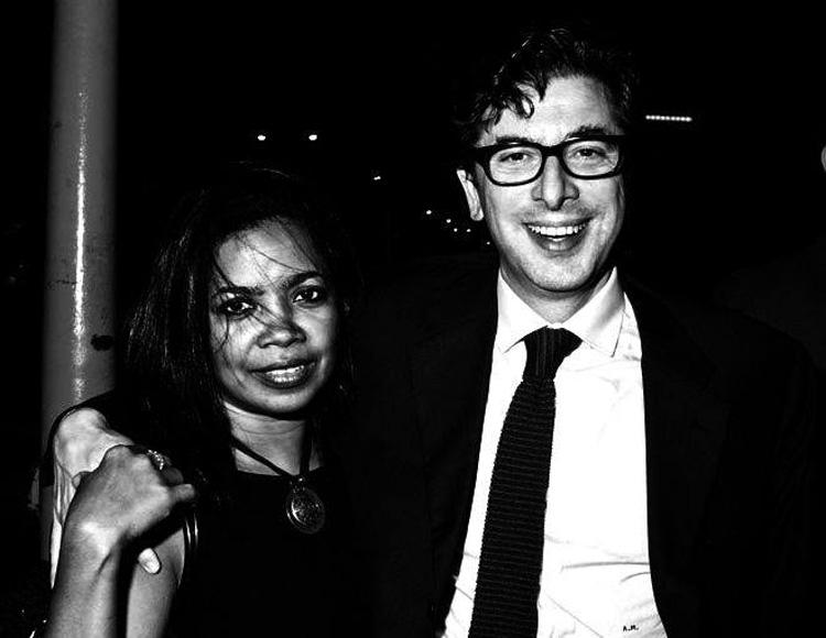 New York -Antonio Monda e sua moglie Jacqueline Greaves