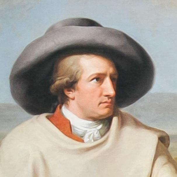 Wolfgang Goethe.