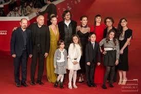 Sole Cuore Amore : il Cast del film al completo sul red carpet della Festa del Cinema
