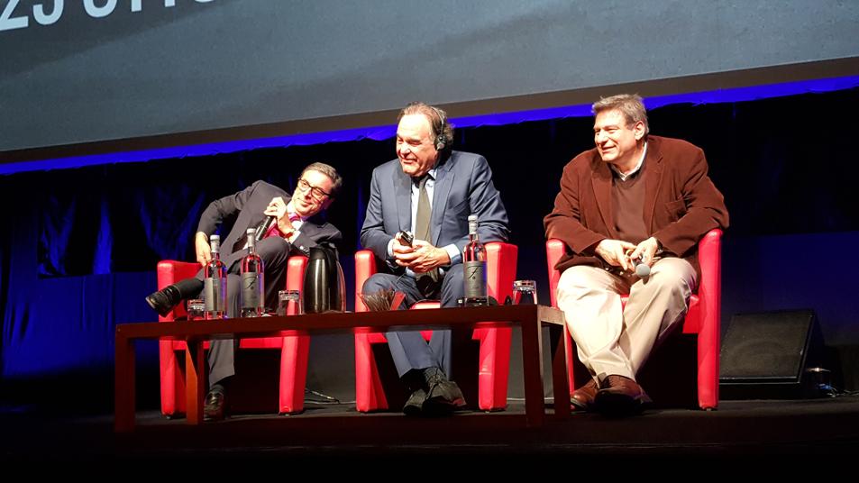 Antonio Monda, Oliver Stone e Richard Peña