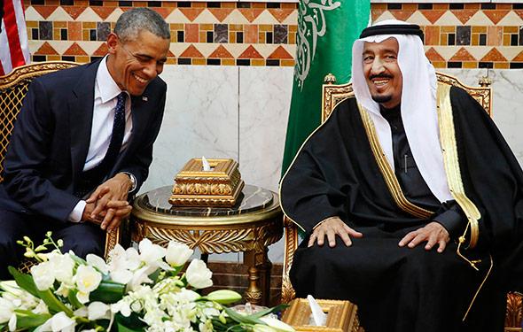 Obama con Re Salman