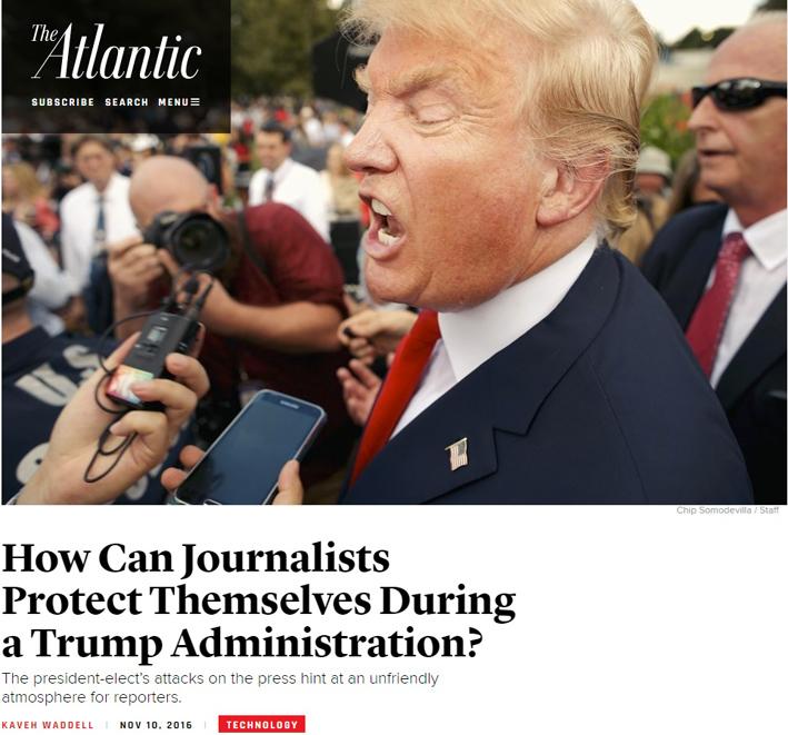 la stampa americana si chiede come proteggerà se stessa da trump