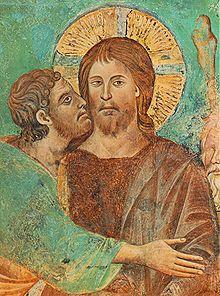 il bacio di Giuda, Cimabue