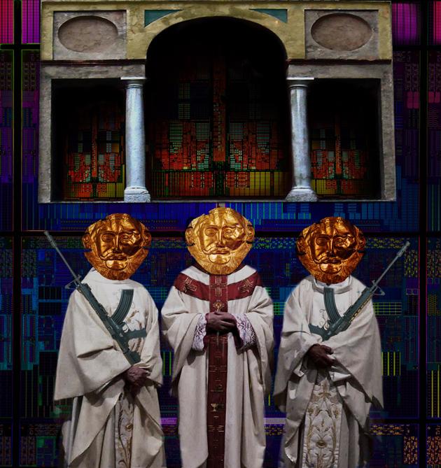 Aleturgia Angelus Novus - la porta dei leoni David colantoni Digital Works-Moscow Museum Of Modern Art giugno 2015