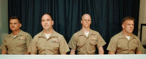 L'equipaggio del Prowler della strage del Cermis