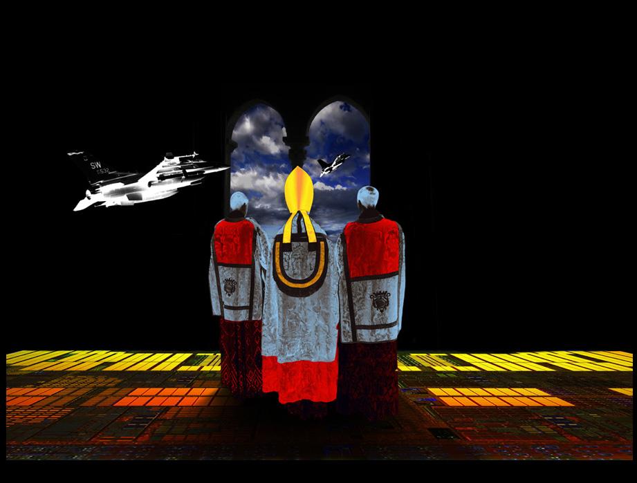 """""""Aleturgia dell'angelus Novus""""- © tutti i diritti riservati - Digital Work by David Colantoni, - esposto al Moscow Museum Of Modern Art giugno 2015"""""""
