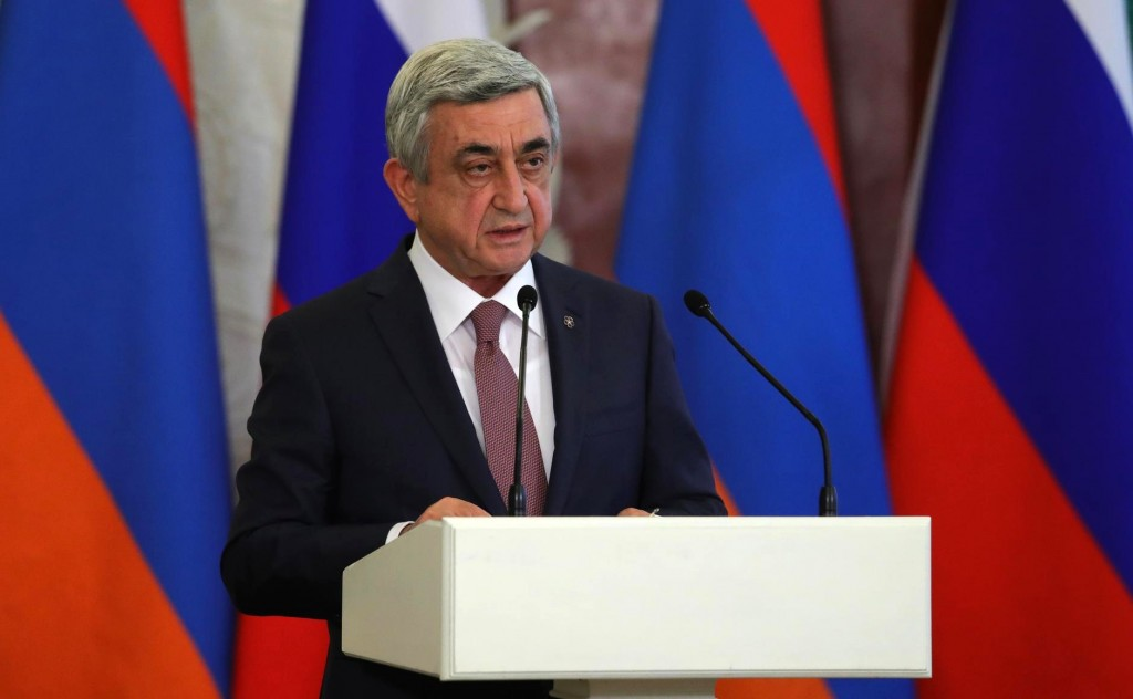 Armenia Serzh Sargsyan
