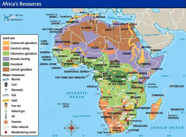 Africa risorse