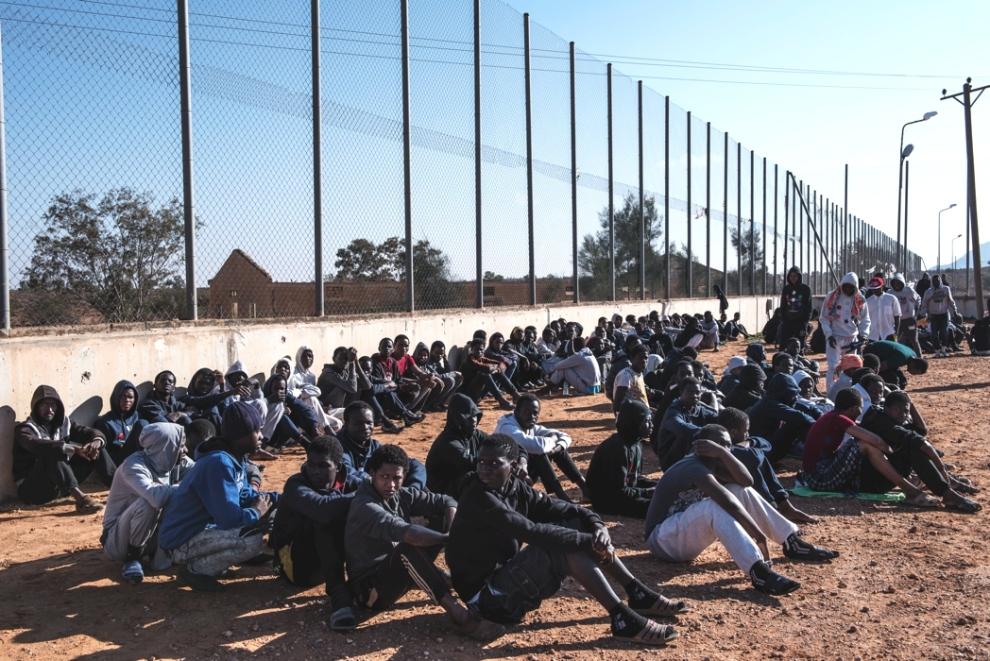 (Migranti nel centro di detenzione di Garian in Libia) - 1