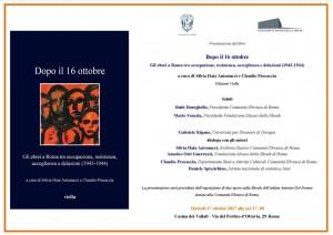 oggi la presentazione del libro alla casetta dei Vallesi. cliccare per ingrandire immagine