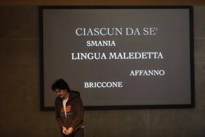 Il giuocatore (prima) (7) -® Michele Borzoni - TerraProject - Contrasto
