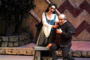 Gilda ( Maria Mudryak ) Rigoletto ( Leo Nucci )