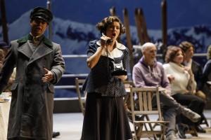 """Firenze, novembre 2017. Un momento della prova antepiano de """"La Sonnambula"""" al teatro dell'Opera di Firenze."""